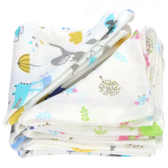 Combo 10 chiếc khăn sữa xuất Nhật (từ 0 tháng tuổi)