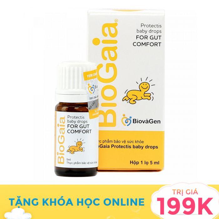 Men vi sinh BioGaia Protectis Baby 5ml (từ 0 tháng tuổi)