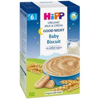 Bột sữa dinh dưỡng HiPP Organic  2965 vị bánh quy 250g cho bé 6 tháng tuổi
