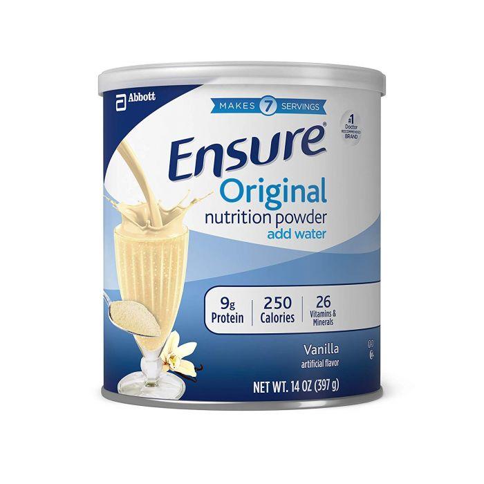 Sữa bột Ensure hương vani 397g