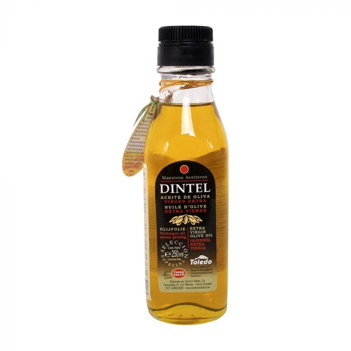 Dầu Olive Dintel Extra Virgin nguyên chất 100% chai thủy tinh 250ml