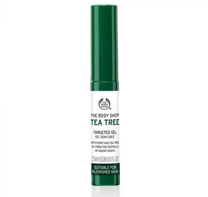 Gel trị thâm mụn The Body Shop Tea Tree Blemish Targeted 2.5ml