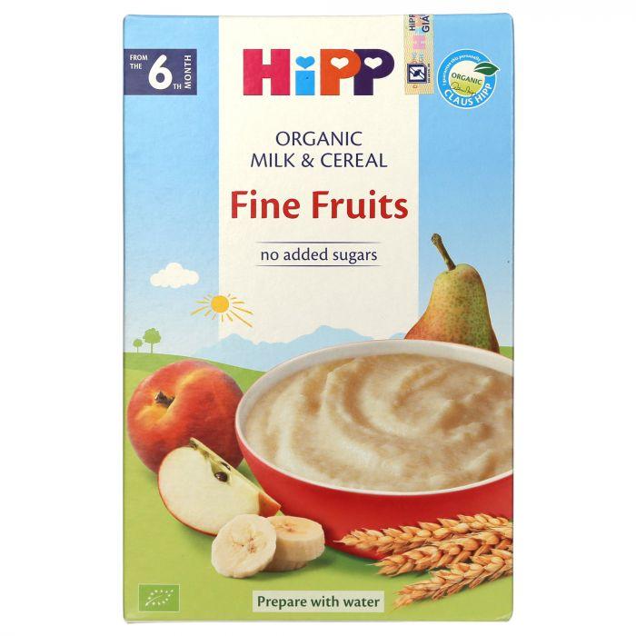 Bột sữa dinh dưỡng HiPP Organic 3141 vị hoa quả tổng hợp 250g (Dành cho bé từ 6 tháng tuổi trở lên)