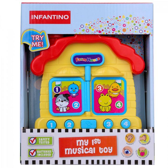 Ngôi nhà phát nhạc Infantino INF219-LS009 (từ 6 tháng tuổi)