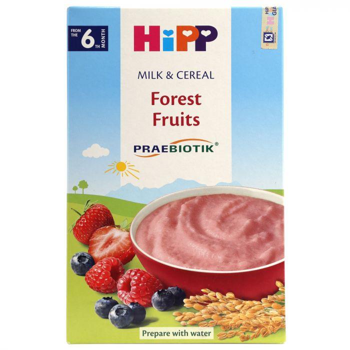 Bột ăn dặm HiPP Praebiotik Organic 250g vị hoa quả rừng (từ 6 tháng tuổi)