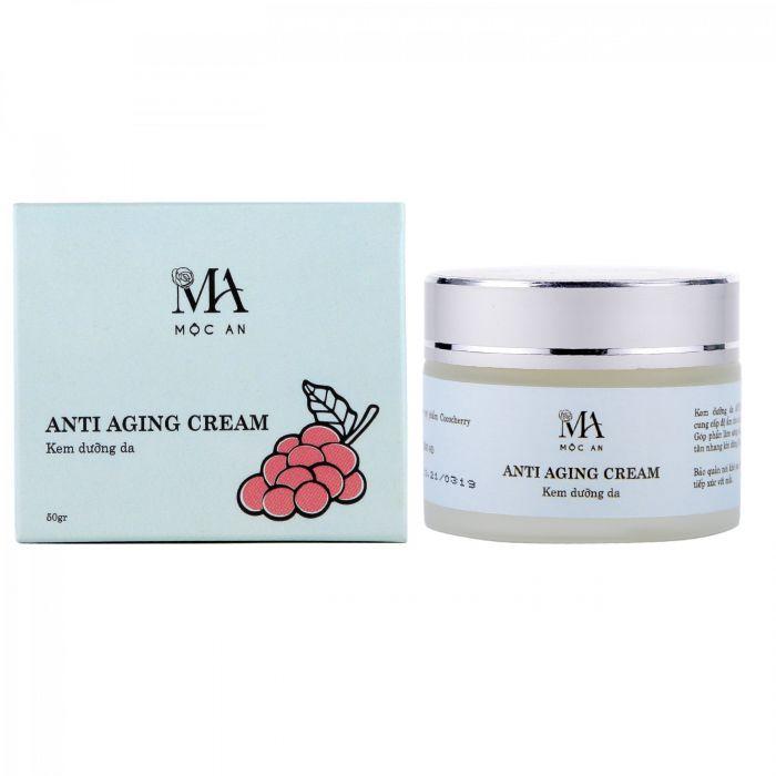 Kem dưỡng sáng da và chống lão hóa Mộc An Anti Aging Cream 50g
