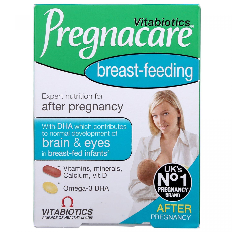 Viên uống lợi sữa Vitabiotics Pregnacare Breast Feeding nội địa Anh 84 viên
