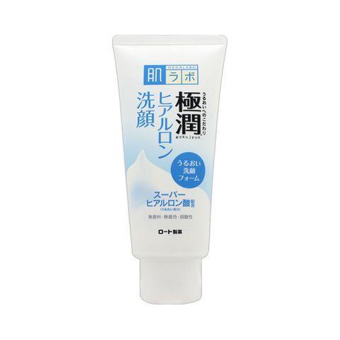 Sữa rửa mặt Hada Labo Gokujyun Foaming Cleanser 100g làm sạch và dưỡng ẩm da